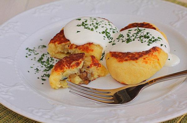 пюре картофельное с грибами рецепт с фото