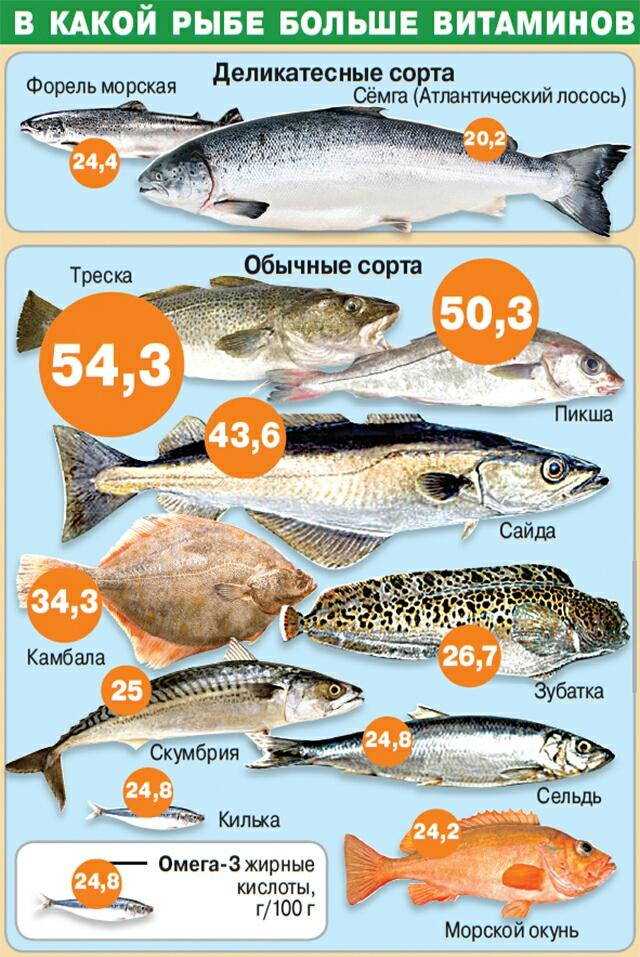 Какая рыба лучше беременным