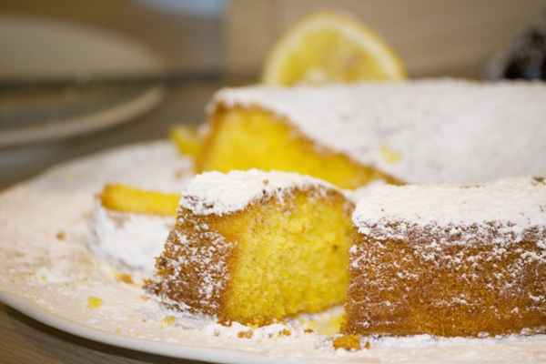 Манник лимонный на кефире рецепт