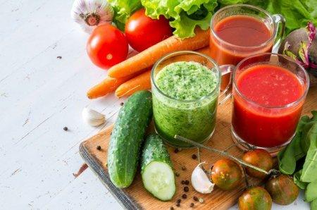 Идеальные сочетания для овощных напитков.