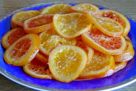 Восточный десерт. Карамелизированные апельсины