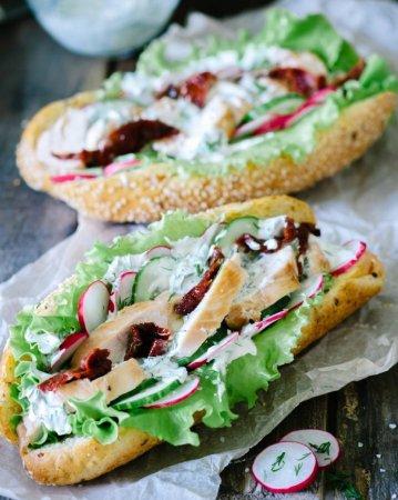 Весенний сэндвич