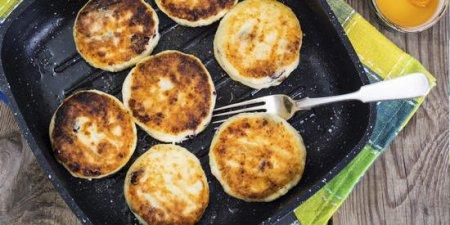 Свежие сырники на завтрак.5 оригинальных рецептов