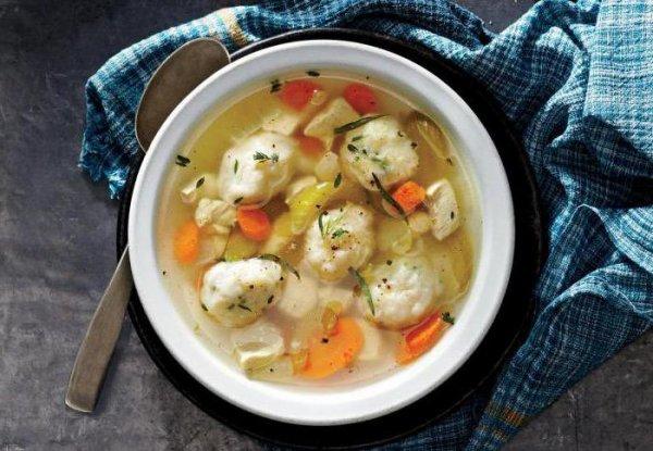 Как сделать суп из галушек рецепт 799