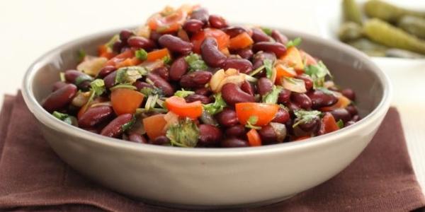Очень вкусные,питательные  и сытные блюда из красной фасоли.(6 рецептов)