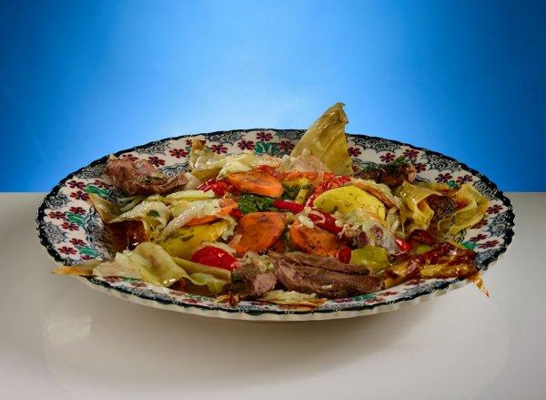 Простое  и идеальное блюдо узбекской кухни- Басма.(Фоторецепт)