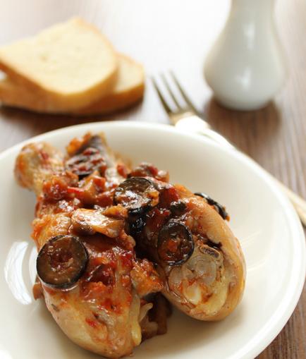 Как приготовить ароматнаю и сочнаю курицу по-средиземноморски