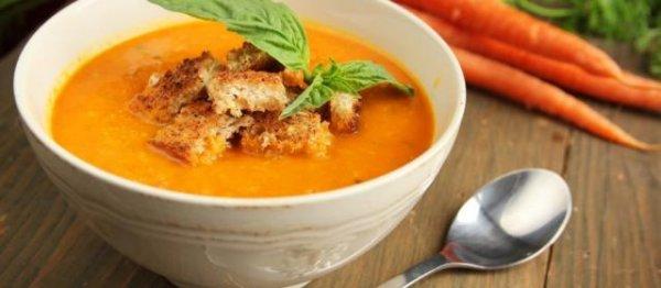 Как быстро и просто приготовить вкусный суп из жареной моркови