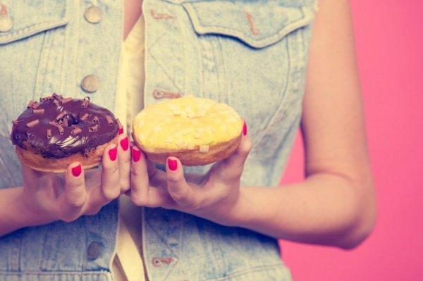 Как похудеть на  необычной пончиковой диете