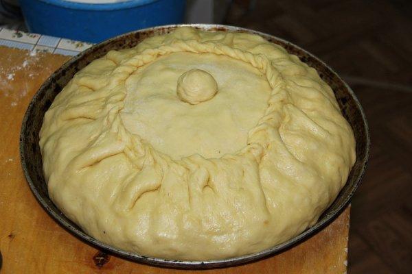 Как приготовить татарский балэш с мясом и картошкой.(Фоторецепт)