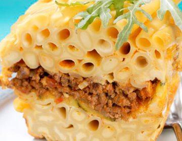 Как приготовить макаронную запеканку с творогом и мясным фаршем