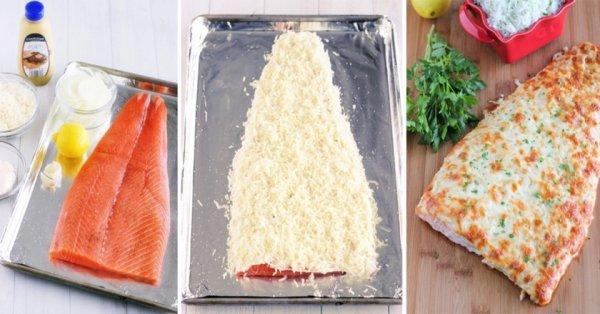 10 рецептов вкусной запечённой рыбы.