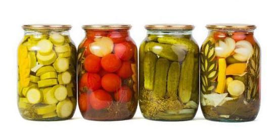 Простой маринад для овощей и универсальная таблица маринада для заготовок на зиму