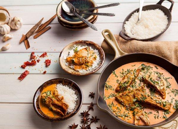 """Как приготовить курицу в имбирно-чесночной заправке """"Мург-махани"""""""