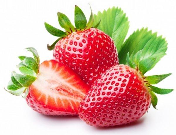Клубничка:Очень полезная ягода!