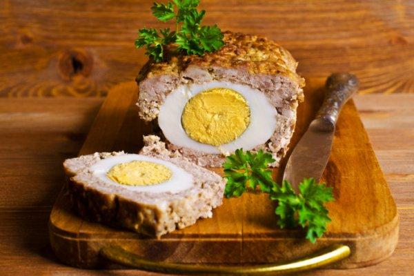 Мясной рулет с яйцом – вкусное домашнее блюдо
