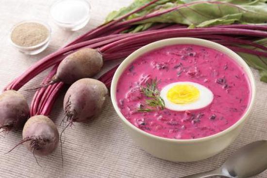 Лёгкий холодный суп поможет пережить жару