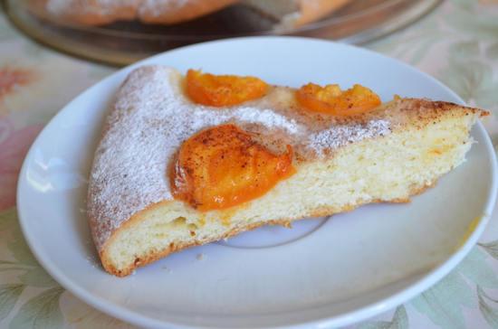 Абрикосовое лето в пироге