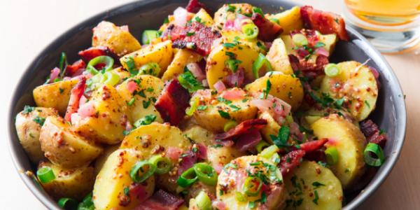 10 рецептов, как приготовить вкусно молодую картошку