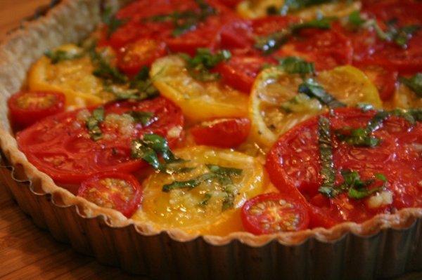 Вкусный и полезный летний пирог с овощами на скорую руку