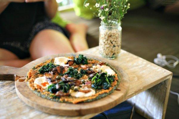 Три рецепта вкусной диетической пиццы без теста