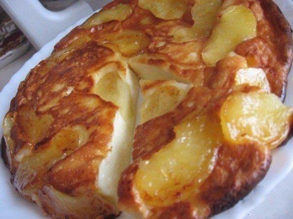 Как приготовить нежную и ароматную творожно яблочная запеканку