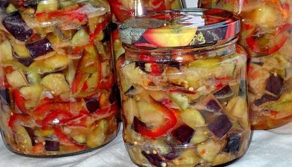 Самый лучший рецепт приготовления баклажанов на зиму. Отменный вкус и просто приятная закуска.