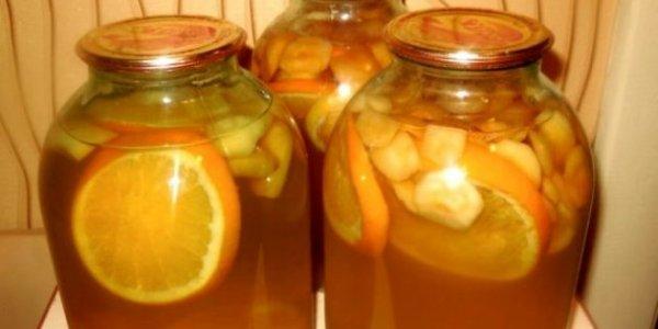 Как заготовить компот из яблок на зиму: 7  рецептов вкусного и полезного напитка.