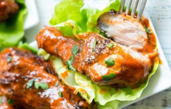 Как приготовить  куриные ножки с пряным соусом по - мексикански.