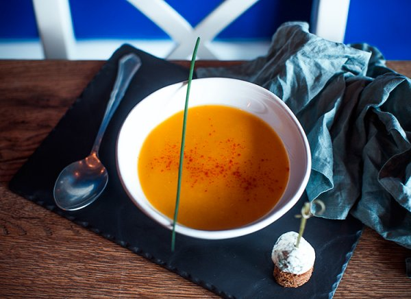 Как приготовить тыквенный суп с фенхелем по рецепту от шеф-повара.