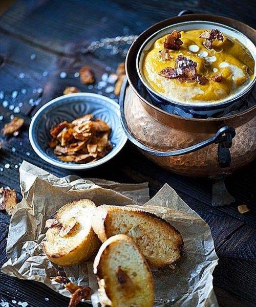 5 популярных рецептов полезных и вкусных  осенних супов-пюре
