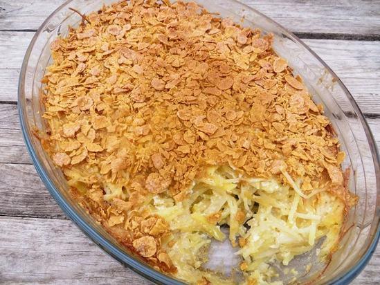 Очень вкусный и простой в приготовлении, картофельная запеканка в новом исполнении.