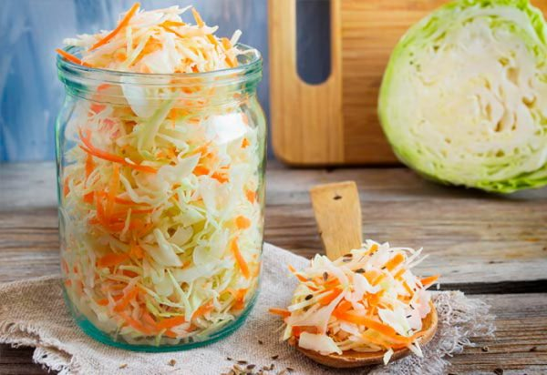 Секрет приготовления хрустящей квашеной капусты, как из бочки.( Фоторецепт)