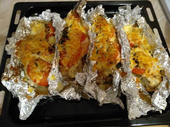 Как приготовить морского окуня в духовке с приятной сырной корочкой. (Фоторецепт)