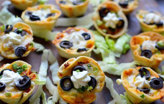 Как приготовить красивые корзиночки из лаваша с овощами на закуску.(Фоторецепт)