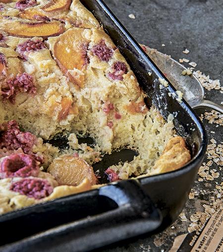 Рецепт овсяного пирога для завтрака