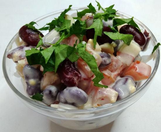Быстрые  и вкусные салаты без заморочек к новогоднему столу.(3 рецепта)