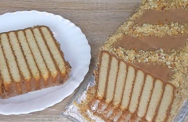 Нежнейший десерт без выпечки родом из детства.(Фоторецепт)