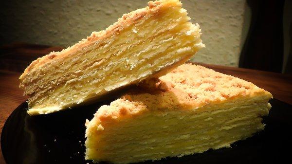 Торт Наполеон - самый знаменитый торт, из всех, что делают дома (Фоторецепт)