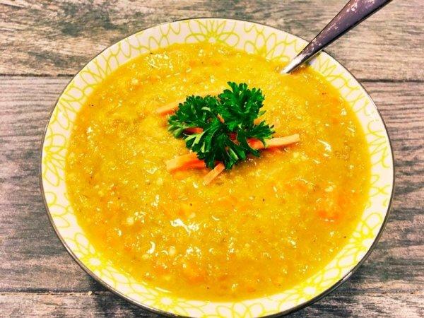 Как приготовить вегетарианский гороховый суп