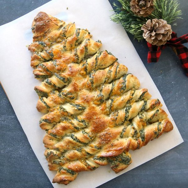 """Оригинальное, очень вкусное и полезное новогоднее угощение """"Ёлочка"""".(Фоторецепт)"""