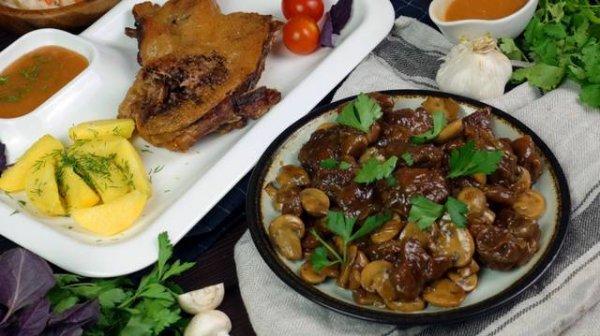 Два блюда из одной утки.(Фоторецепт)