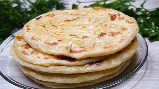 Как приготовить узбекские лепёшки Катлама на сковороде.
