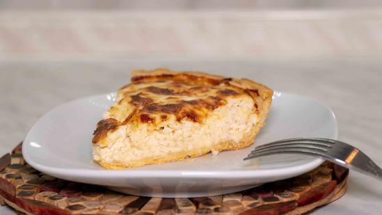 Киш - вкусный и сытный пирог с курицей