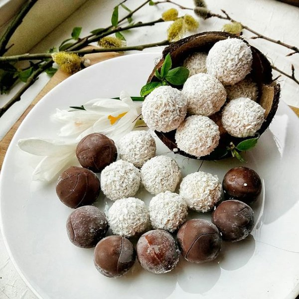 6 рецептов полезных конфет своими руками, для тех кто худеет