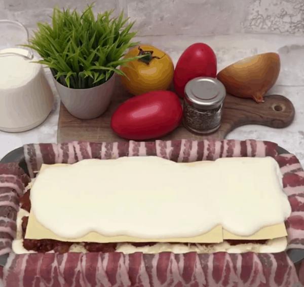 Как приготовить ароматный с хрустящей корочкой хлебец из бекона. (Фоторецепт)