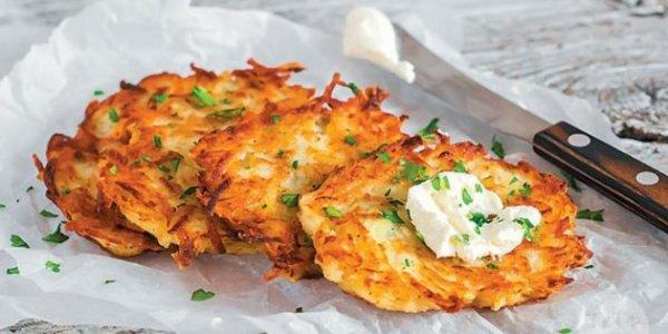 Как приготовить картофельные драники с курицей