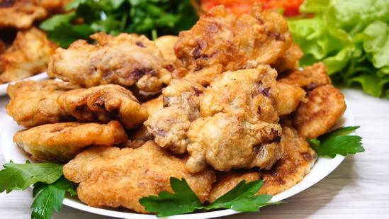 Как приготовить куриную печень в кляре