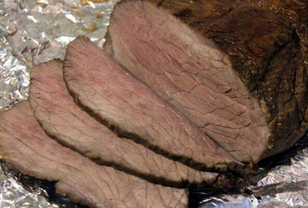 Как приготовить в духовке кусок говядины по классическому рецепту. (Ростбиф)