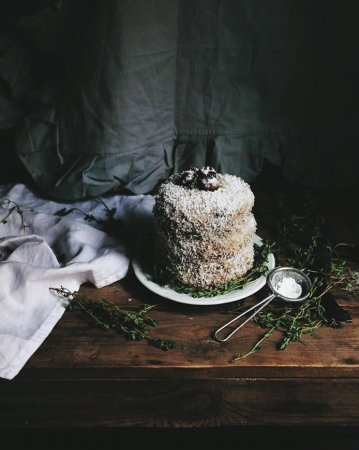 Постный торт с вишней: Десерт для Великого поста